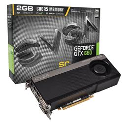 EVGA GeForce GTX 660 1046MHz 2GB PCI-Express 3.0 HDMI Superclocked