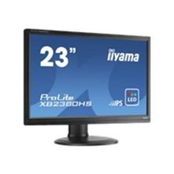 "iiyama ProLite XB2380HS-B1 23"" 1920x1080 5ms VGA DVI HDMI Height Adjustable IPS LED Black Monitor"