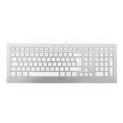 Cherry STRAIT JK-0300 Corded Keyboard (White/Silver)