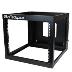 StarTech.com 8U 22in Depth Hinged Open Frame Wall Mount Server Rack