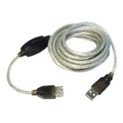 Best Value USB 2.0 A Male - A Female Extension Cable (Up To 5m) Black