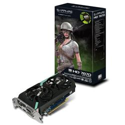 Sapphire Technology AMD Radeon 7870 HD 1GHz 2GB PCI-Express 3.0 HDMI Dual-X