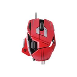 Mad Catz M.M.O 7 Gaming Mouse - Red