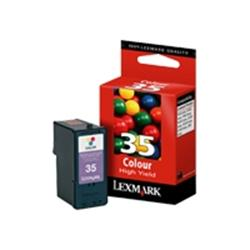 Lexmark Colour High Capacity INKJET Cartridge - No.35
