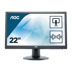 "AOC E2260PDA 22"" Widescreen 1680x1050 5MS DVI VGA Speakers LED Monitor"