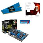 Asus AMD Gamer Bundle (Includes M5A97 R2.0, AMD FX-4170 & 8GB Corsair Vengeance LP Memory)