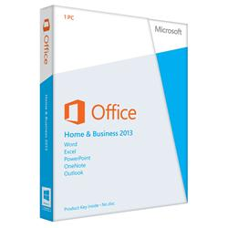 Microsoft Office Home & Business 2013 - 32/64-bit (Medialess)