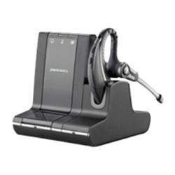 Plantronics Savi 700 Series W730/A, 3-in-1 Connectivity, Wireless DECT UC Headset