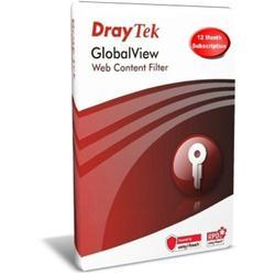 Draytek Globalview WCF 'B' - 12 mo. CARD