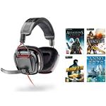 Plantronics GameCom 780 Gaming Headset - Includes download voucher for game