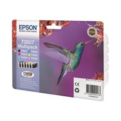 Epson T080 Stylus Photo Colour - Multipack