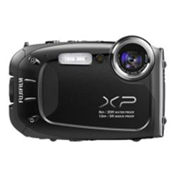 Fujifilm FinePix XP60 - Digital camera - 3D - 16.4 Mpix - 5 x optical zoom - black