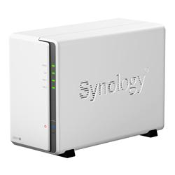 Synology 6TB (2 x 3TB WD Red) DS213J 2-Bay Desktop NAS