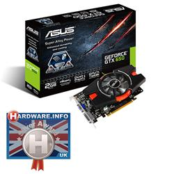 Asus GeForce GTX 650 1071MHz 2GB PCI-Express 3.0 HDMI