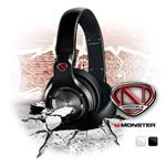 Monster Cables NCredible NPulse Over-Ear Headphones - Black