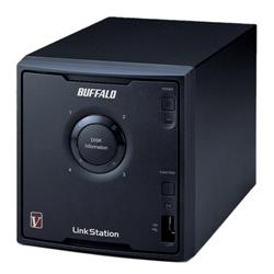 Buffalo Linkstation Pro Quad High Speed 4-Bay NAS Enclosure 1.6GHz (Diskless) 1 x Gigabit RAID 0/1/5/10
