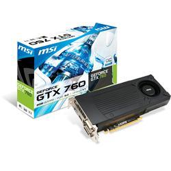 MSI GeForce GTX 760 1006MHz 2GB PCI-Express 3.0 HDMI OC.