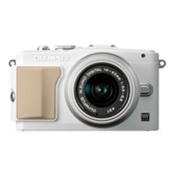 Olympus E-PL5 PEN Camera White/Silver 14-42mm Lens