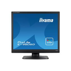 "iiyama ProLite E1980SD-B1 19"" 1280x1024 5ms DVI-D VGA Black Monitor with Speakers"