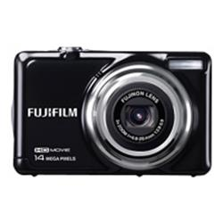 Fuji FinePix JV500 Black Camera Kit inc 8GB SD Card and Case