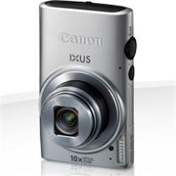 "Canon Ixus 255 HS 12.1MP 10xZoom 3"" LCD Full HD Camera - Silver"