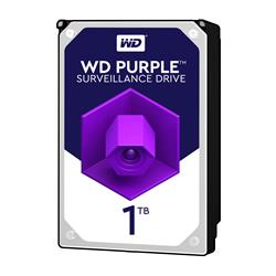 WD Purple 1TB Surveillence AV  Hard Disk Drive  Intellipower SATA 6 Gbs 64MB Cache 3.5 Inch