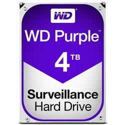 WD Purple 4TB Surveillence AV  Hard Disk Drive  Intellipower SATA 6 Gbs 64MB Cache 3.5 Inch