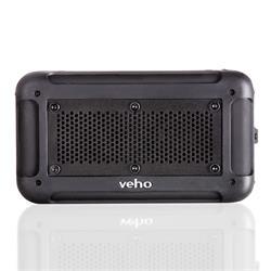 Veho 360° Vecto Black Wireless Water Resistant Speaker with In-Built 6000mAh Power Bank