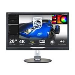 Philips 288P6LJEB 28 3840x2160 5ms HDMI DVI-D VGA Black Monitor.