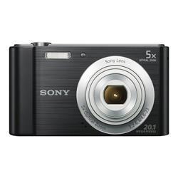 Sony Cybershot DSCW800 Black Camera