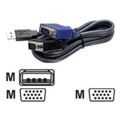 TRENDnet 6ft USB/VGA KVM Cable.