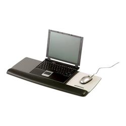 3M Platform for Keyboard & Mouse with Leatherette Gel Wrist-Rest