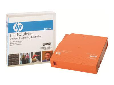 HP Ultrium Universal Cleaning Cartridge - LTO Ultrium - orange - cleaning cartridge