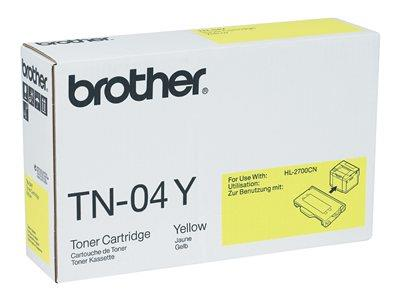 Brother TN-04Y Yellow Toner Cartridge