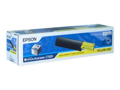 Epson C1100 High Capacity Yellow Car