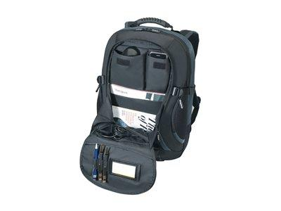 Targus XL Notebook Backpac Black/Blue