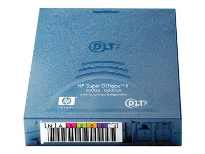 HP - Super DLT II - 300 GB / 600 GB - storage media