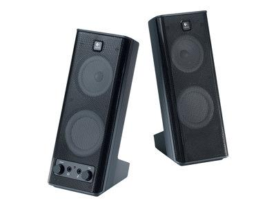 Logitech X 140 - PC multimedia speakers - 5 Watt (Total) - black