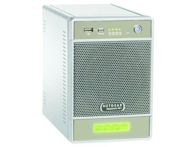 NetGear ReadyNAS NV+ 4 Bay Gigabit Desktop Network Storage NAS