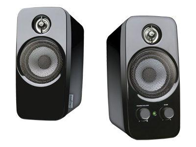Creative Inspire T10 - PC multimedia speakers - 10 Watt (Total) - 2-way - Glossy Black