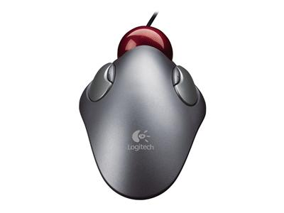 Logitech Trackman Marble Mouse - Wired USB