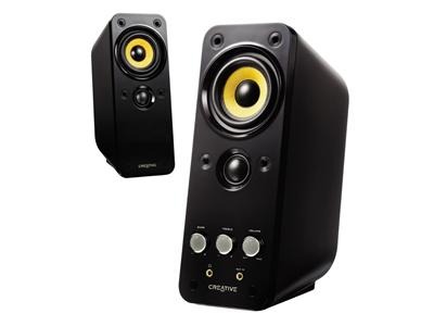 Creative GigaWorks T20 Series II - PC multimedia speakers - 28 Watt (Total) - Black