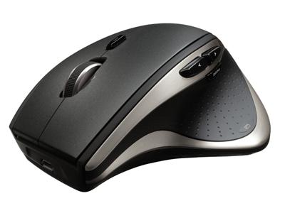 Logitech MX Performance Laser Mouse - 2.4Ghz USB Wireless Receiver