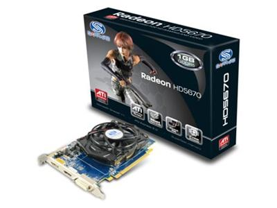 Sapphire Technology ATI Radeon 5670 HD 775Mhz 1GB PCI-Express 2.0 HDMI