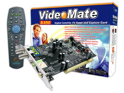 Best Value Compro VideoMate S350 DVB-S PCI card