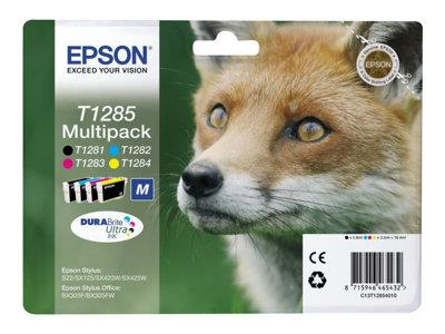 Epson T1285 Multipack 1 x black, yellow, cyan, magenta