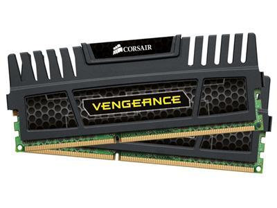 Corsair 8GB (2x4GB) DDR3 1866Mhz CL9 Vengeance Black Performance Desktop Memory Kit