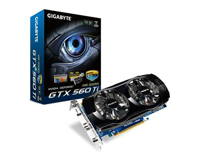Gigabyte GeForce GTX 560 Ti 900MHz 1GB PCI-E HDMI (OverClocked)