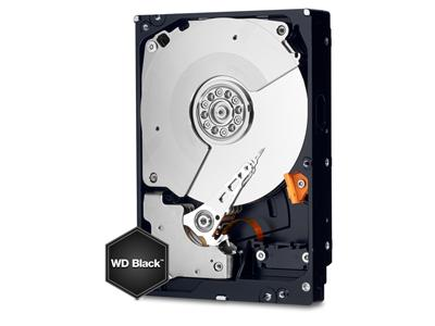 "WD 2TB Black 7200RPM SATA 6Gb/s 64MB 3.5"" Hard Drive"