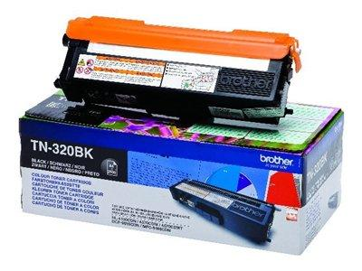 Brother TN320BK Black Toner Cartridge 2.5K